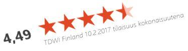 Arvioita 10 2 2017 _kokonaisuus _2 TDWI Finland
